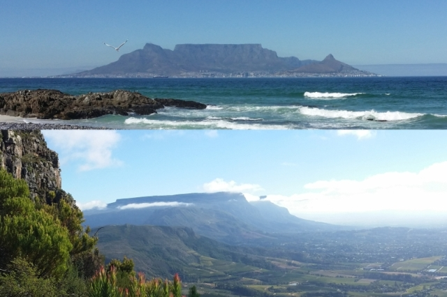 Table Mountain Comparative View